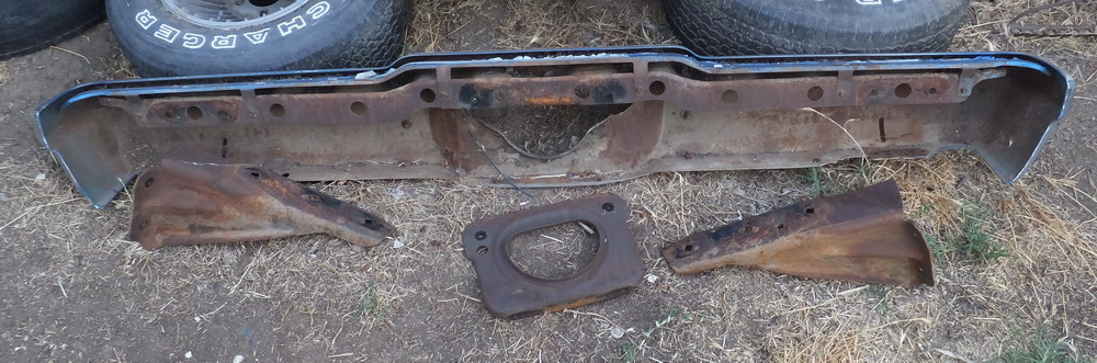 73 Chevy Malibu Parting out Rearbmpr2